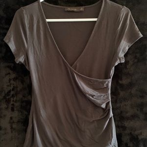 The Limited. Dressy T-shirt. Taupe. XS